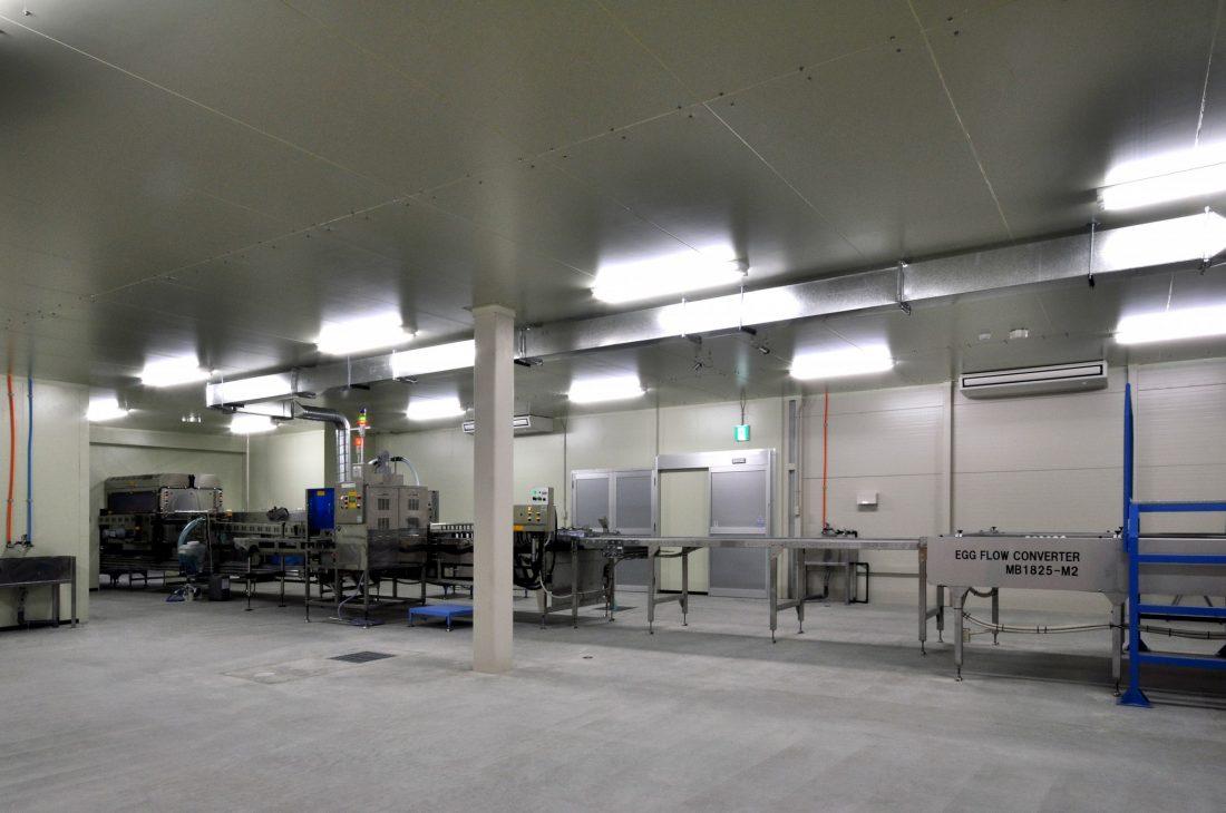 鶏卵梱包施設 建設工事 サブ画像4