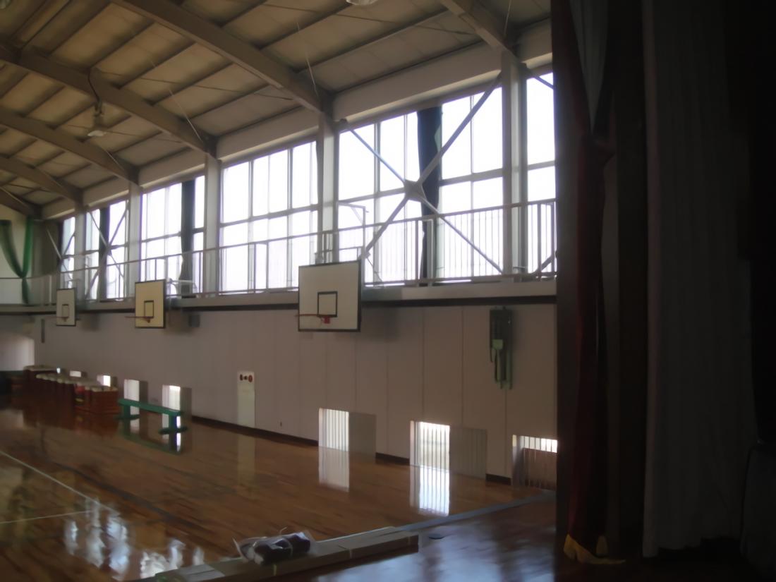 岡山市立操南小学校体育館 耐震改修工事 サブ画像3