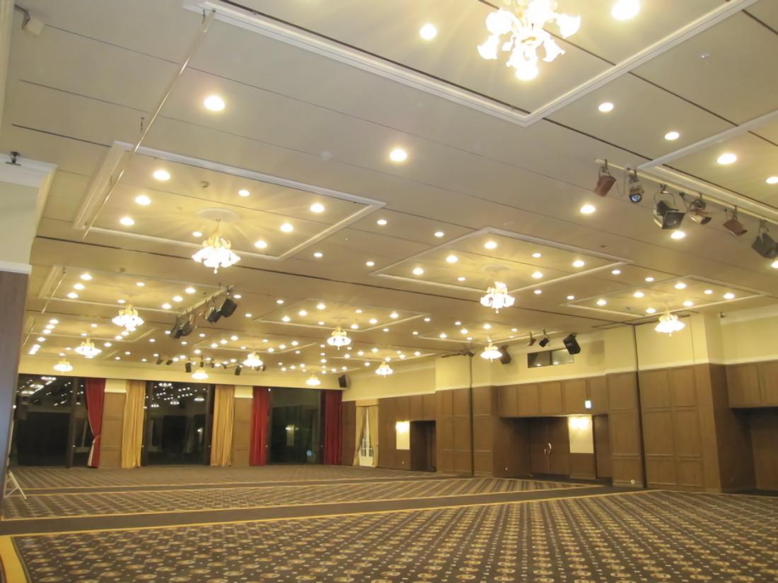 岡山国際ホテル宴会場他 改装工事 サブ画像1