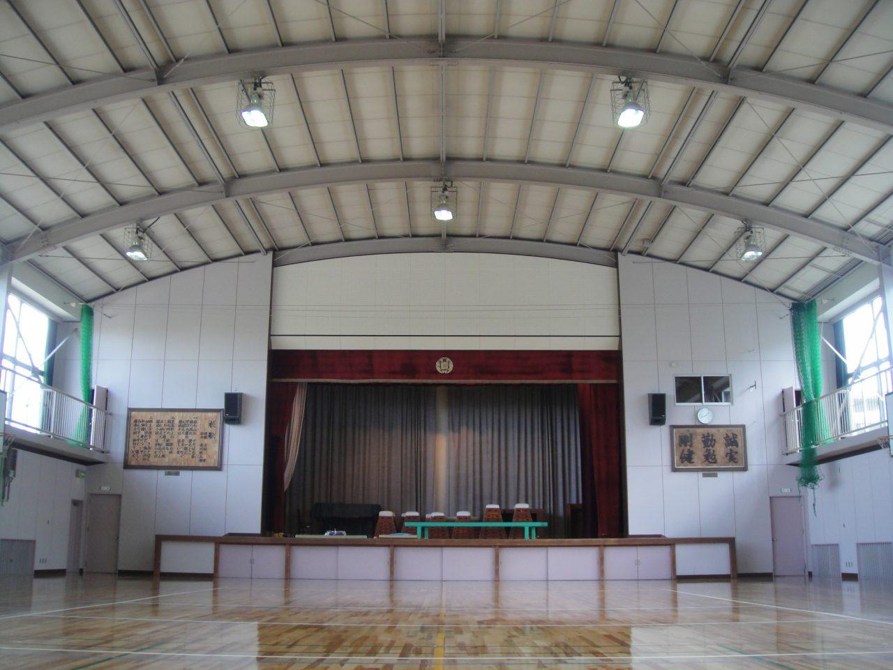 岡山市立操南小学校体育館 耐震改修工事