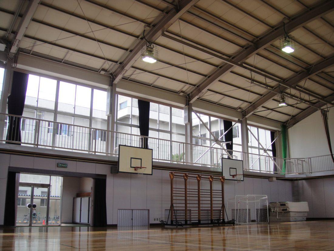 岡山市立操南小学校体育館 耐震改修工事 サブ画像2