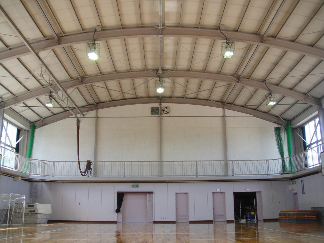 岡山市立操南小学校体育館 耐震改修工事 サブ画像1