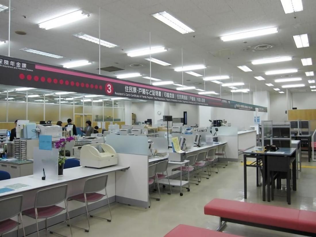 岡山市中区役所施設 整備工事 サブ画像1