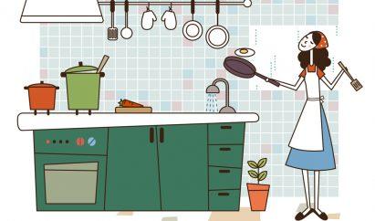 キッチンイラスト2