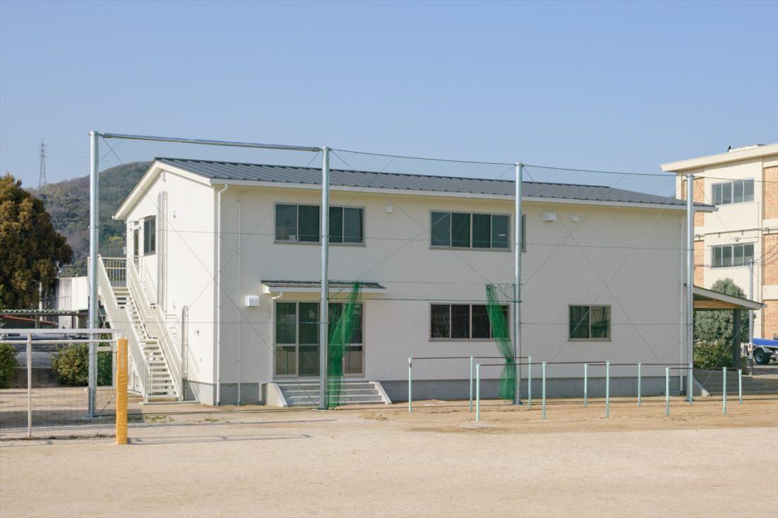 岡山市立富山小学校内児童クラブ室新築工事 サブ画像2