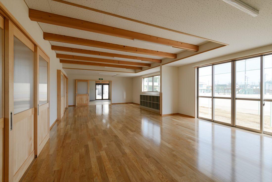 岡山市立富山小学校内児童クラブ室新築工事 サブ画像4