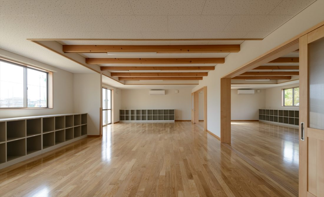 岡山市立富山小学校内児童クラブ室新築工事 サブ画像5