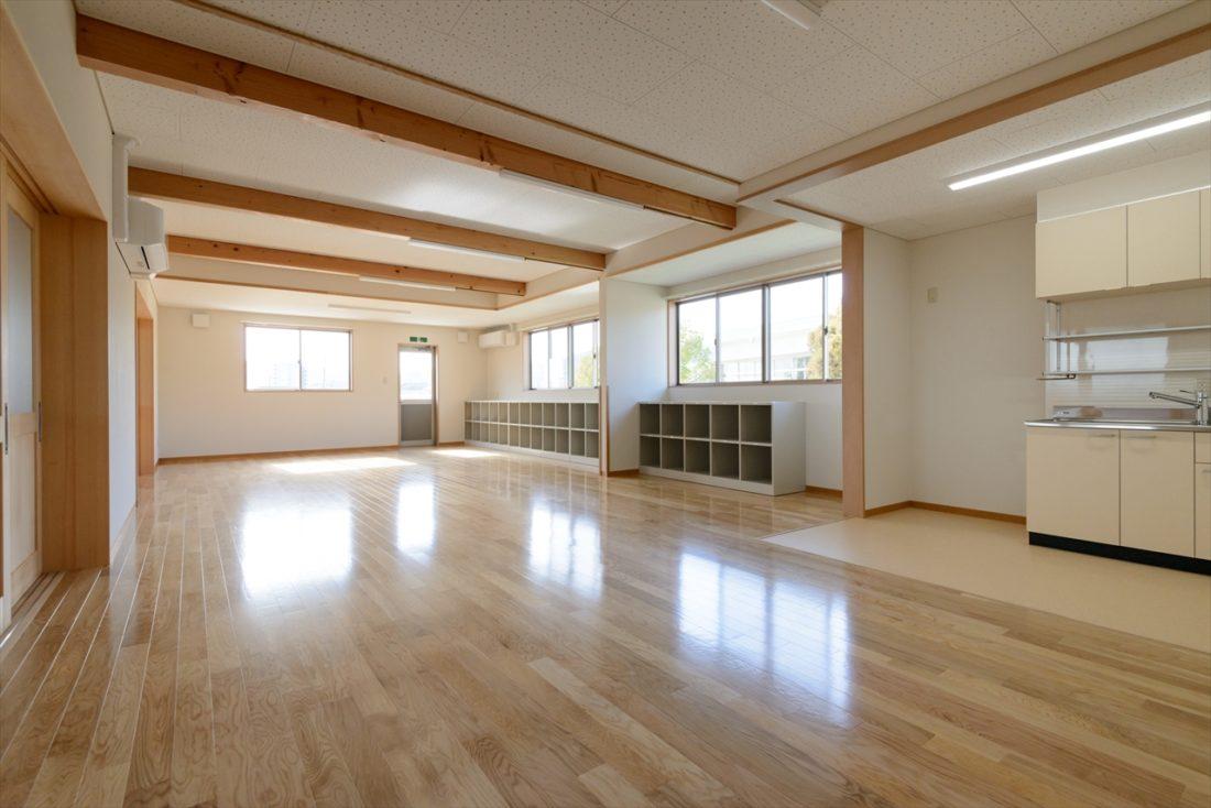 岡山市立富山小学校内児童クラブ室新築工事 サブ画像6