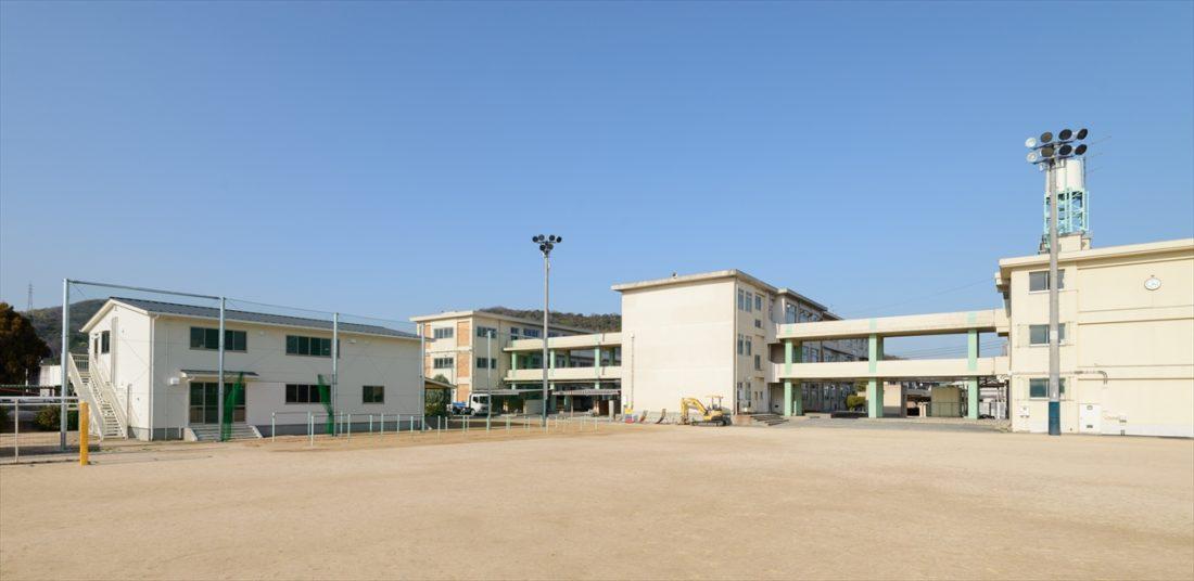 岡山市立富山小学校内児童クラブ室新築工事 サブ画像8